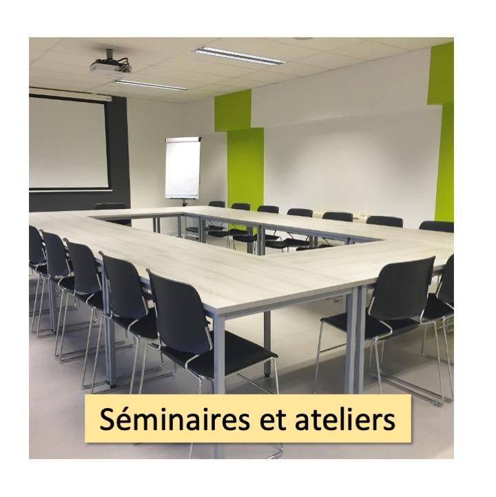 séminaires et ateliers menu